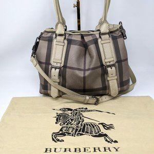 authentic BURBERRY Multi PVC 2WAY Shoulder Bag
